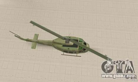 UH-1 Iroquois (Huey) for GTA San Andreas right view