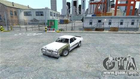 Jupiter Eagleray MK5 v.2 for GTA 4 left view