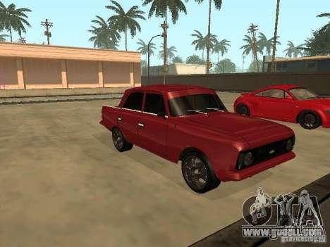 AZLK 412 IE for GTA San Andreas left view