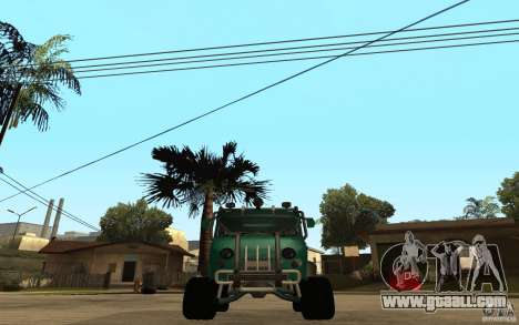 UAZ loaf of hard off-road for GTA San Andreas right view