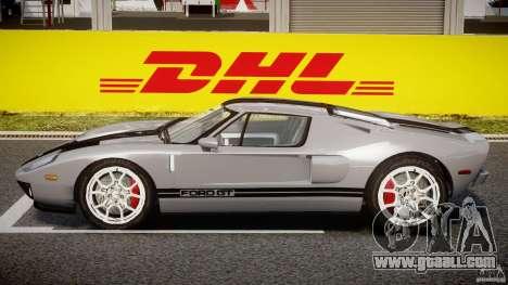 Ford GT 2006 v1.0 for GTA 4 back left view