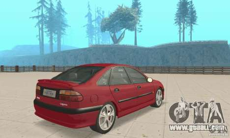 Renault Laguna 16V for GTA San Andreas left view