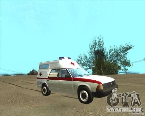 AZLK 2901 ambulance for GTA San Andreas