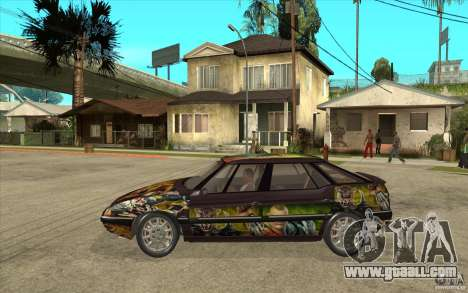 Citroen XM Custom for GTA San Andreas left view