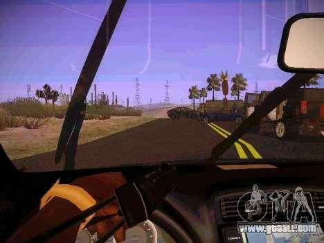 Lexus I SF for GTA San Andreas inner view