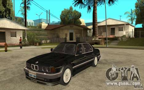BMW E32 7-er Alpina B12 for GTA San Andreas