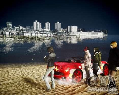 Ferrari California DC Texture for GTA 4 right view