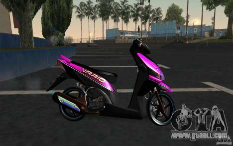 Honda Vario for GTA San Andreas left view