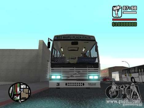 CAIO Padron Vituria Volvo B58 for GTA San Andreas left view