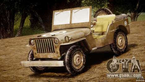 Jeep Willys [Final] for GTA 4 left view