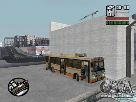 LIAZ 5283.70 for GTA San Andreas inner view