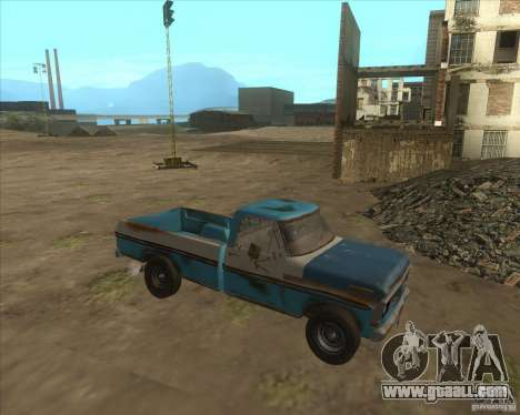 Ford F150 1978 old crate edition for GTA San Andreas left view