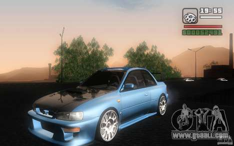 Subaru Impreza 22B for GTA San Andreas