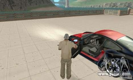 Porsche 911 GT2 NFS Undercover for GTA San Andreas back view