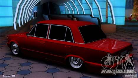 VAZ 2107 car tuning for GTA San Andreas left view