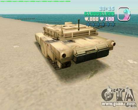 M 1 A2 Abrams for GTA Vice City forth screenshot