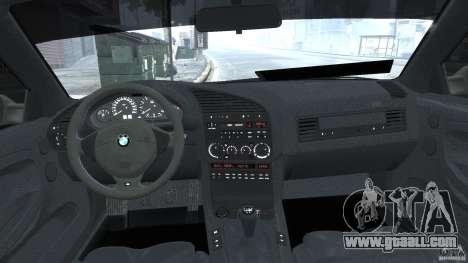 BMW e36 M3 for GTA 4 upper view