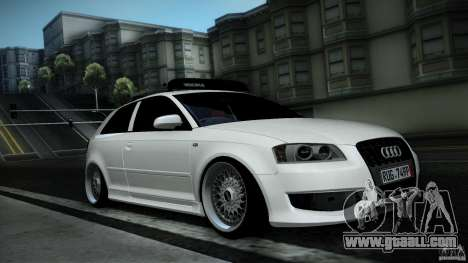 Audi S3 Euro for GTA San Andreas