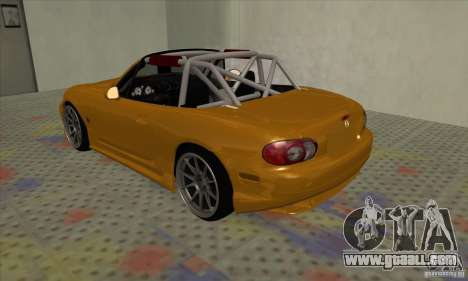 Mazda MX-5 for GTA San Andreas right view