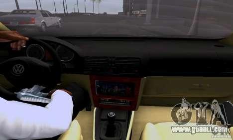 Volkswagen Bora 1.8T for GTA San Andreas right view