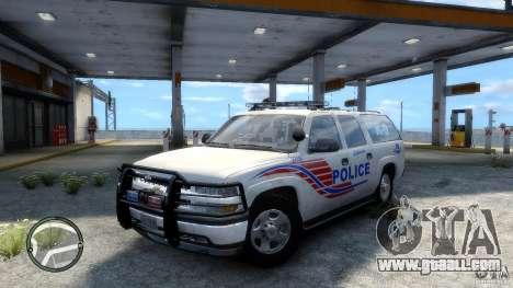Chevrolet Suburban 2006 Police K9 UNIT for GTA 4