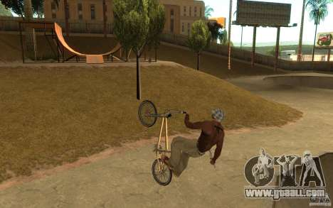 BMX Master for GTA San Andreas