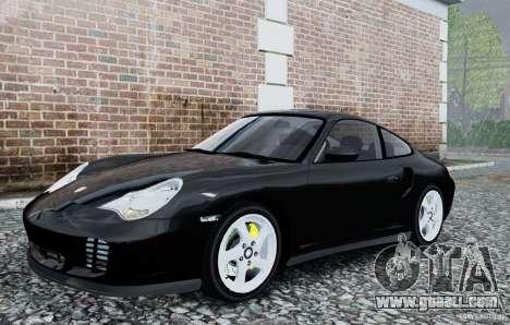 Porsche 911 Turbo S for GTA 4 left view