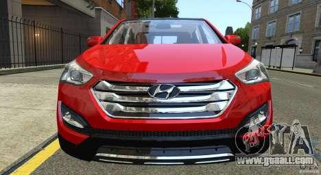 Hyundai Santa Fe Sport 2013 for GTA 4 side view