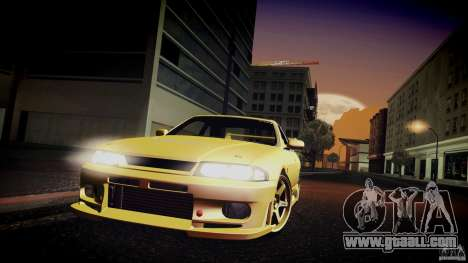 Nissan Skyline GTS R33 for GTA San Andreas side view