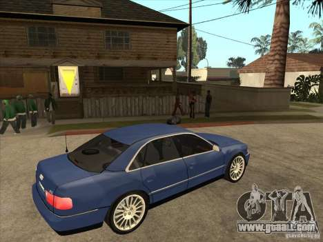 Audi A8 for GTA San Andreas right view