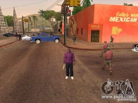 Ballas 4 Life for GTA San Andreas ninth screenshot