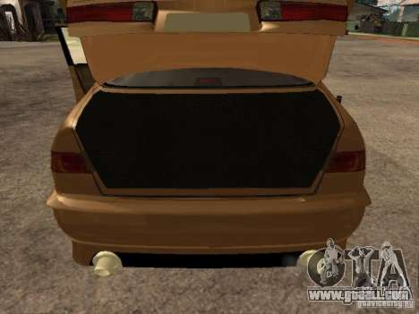 Toyota Camry 2002 TRD for GTA San Andreas back view