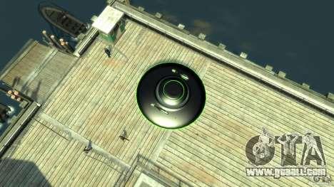 UFO neon ufo green for GTA 4 right view