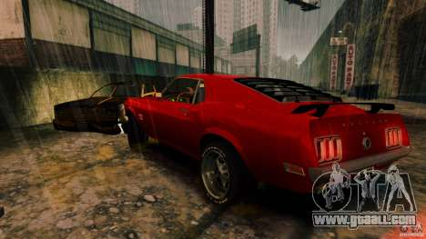 Ford Mustang BOSS 429 for GTA 4 back left view