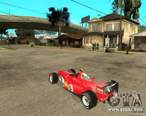 Ferrari F1 for GTA San Andreas left view