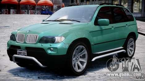 BMW X5 E53 v1.3 for GTA 4