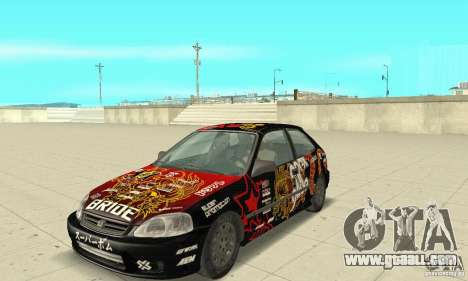 Honda-Superpromotion for GTA San Andreas