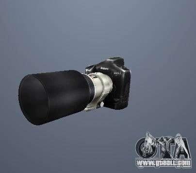 Pak high polygonal weapons for GTA San Andreas sixth screenshot