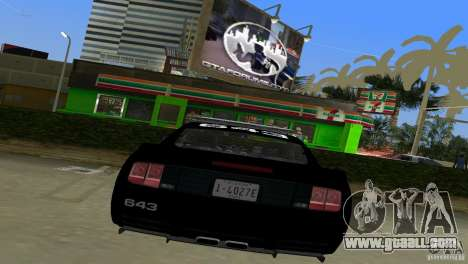 Saleen S281 Barricade 2007 for GTA Vice City right view