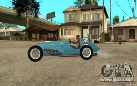 Talbot Lago T26C 1949 for GTA San Andreas left view