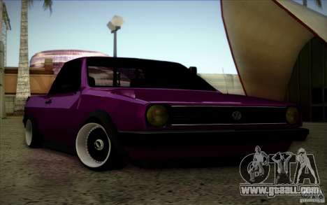Volkswagen Polo Pickup for GTA San Andreas inner view