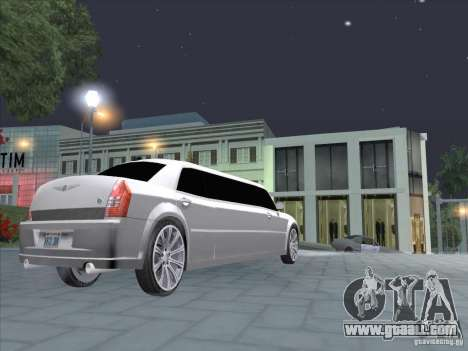 Chrysler 300C Limo for GTA San Andreas right view