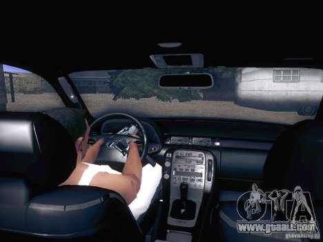 Lexus SC300 - Stock for GTA San Andreas back view