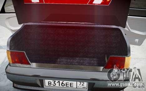 VAZ 2115 v1.0 for GTA 4 interior