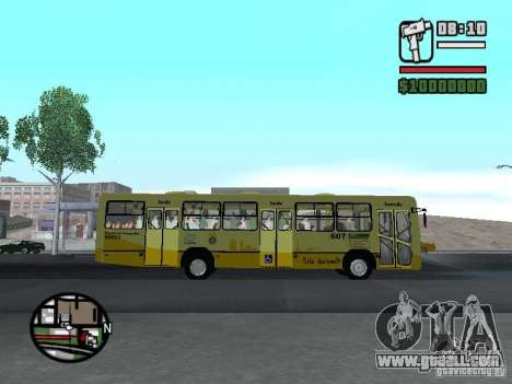 Ciferal Citmax for GTA San Andreas inner view