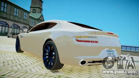 Aston Martin Rapide for GTA 4 left view