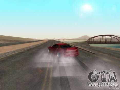 New textures water and smoke for GTA San Andreas third screenshot