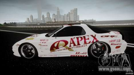 Mazda RX7 FD Apex Imamura for GTA 4 left view
