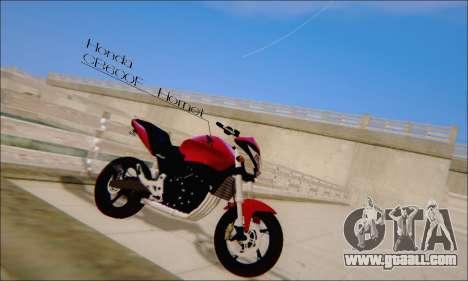 Honda CB600F Hornet 2012 for GTA San Andreas left view