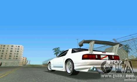Mazda Savanna RX-7 FC3S for GTA Vice City left view